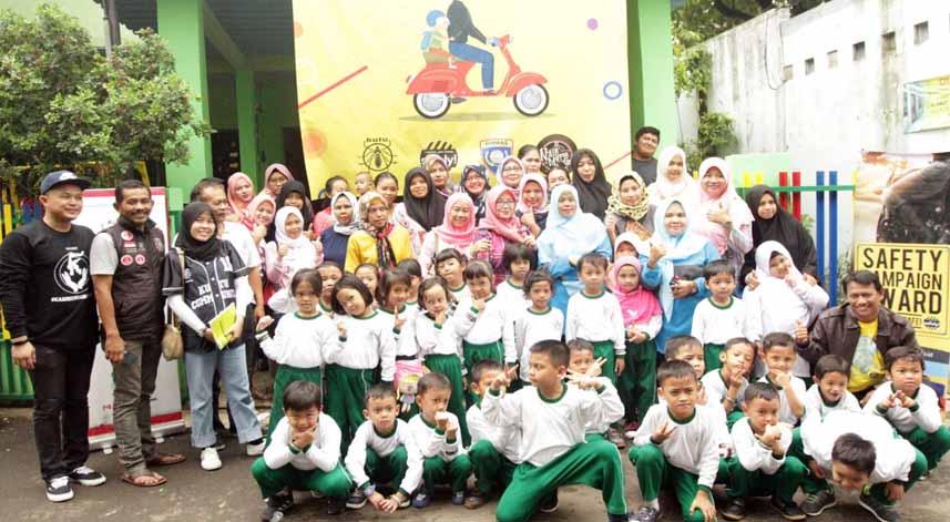Cara Kutu Community Tanamkan Keselamatan Berkendara Untuk Anak Tk