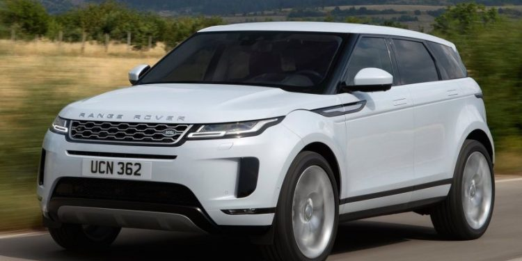 range rover evoque terbaru