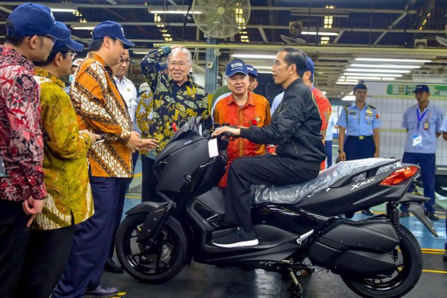 Ekspor Motor Yamaha
