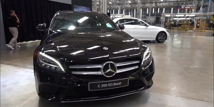 Mercedes-Benz C200 Facelift
