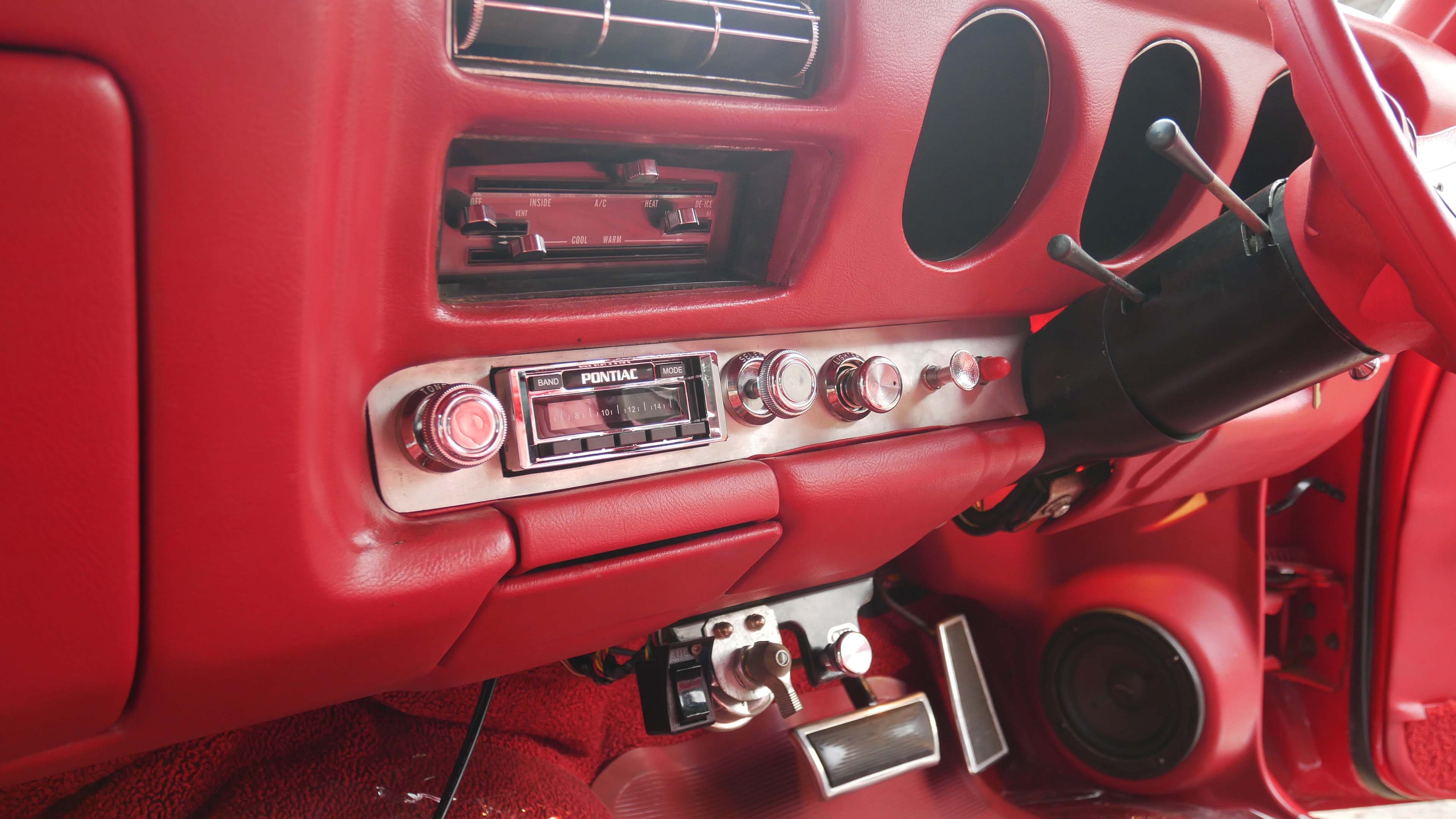 Interior Pontiac GTO The Judge