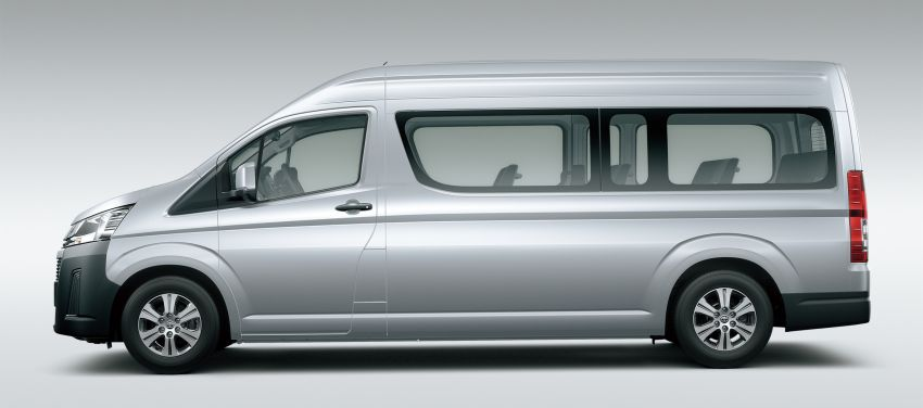 Toyota Hiace terbaru