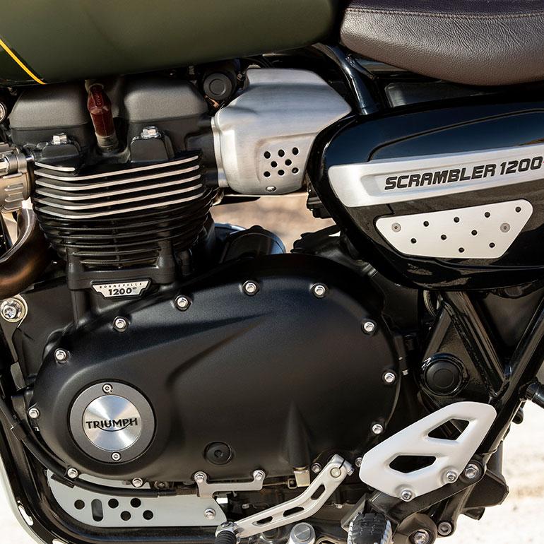 Mesin New Triumph Scrambler 1200 XE