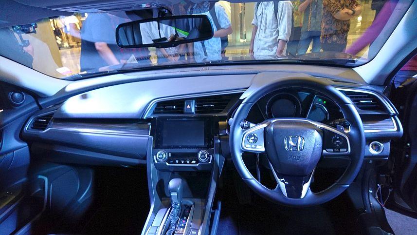 panel instrumen New Honda Civic Turbo