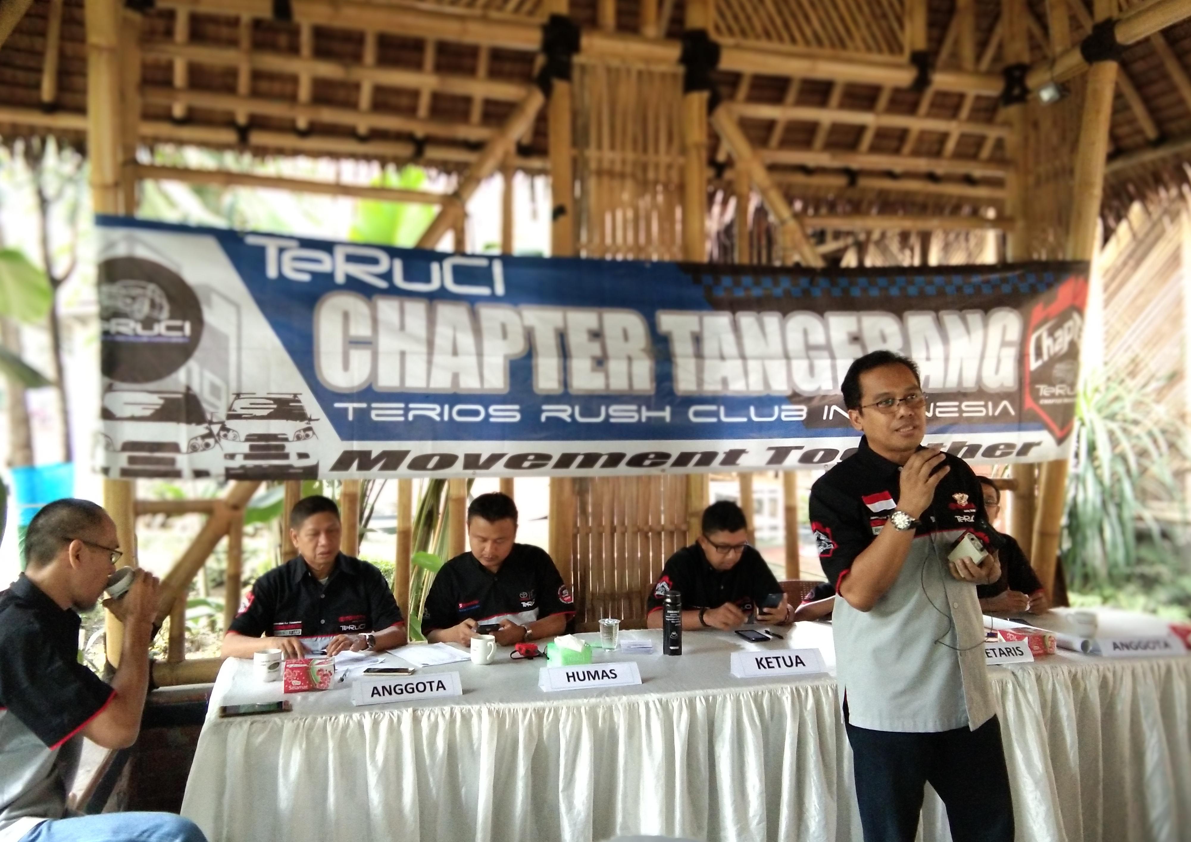 TeRuCI chapter Tangerang melakukan pemilihan ketua chapter