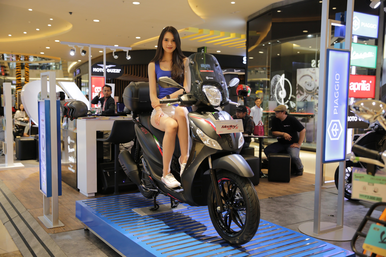 Mall to Mall Exhibition Piaggio Indonesia