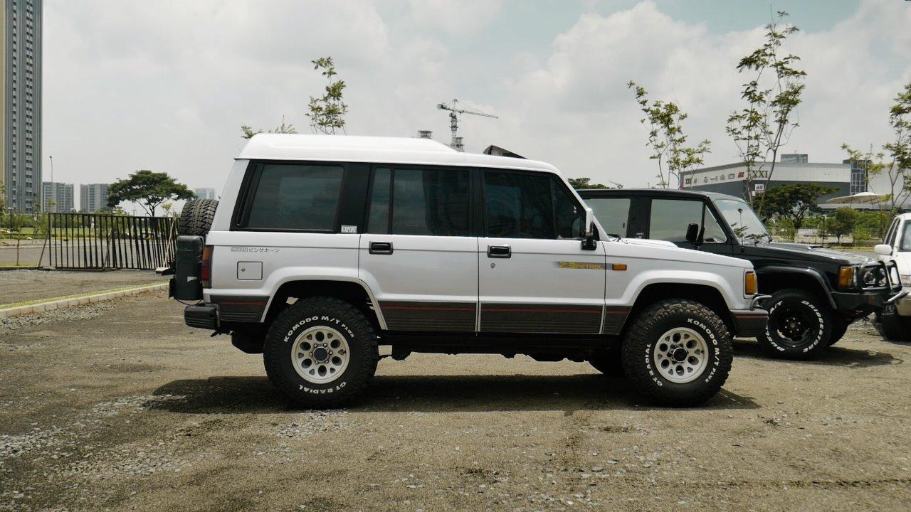 Modifikasi  Chevrolet Trooper Mobil Camper Nyaman