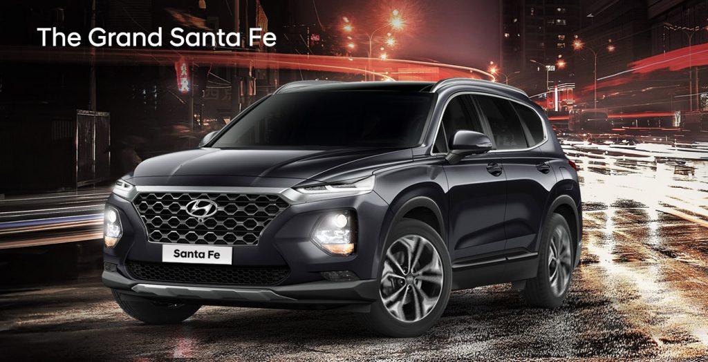 Hyundai Santa Fe varian baru