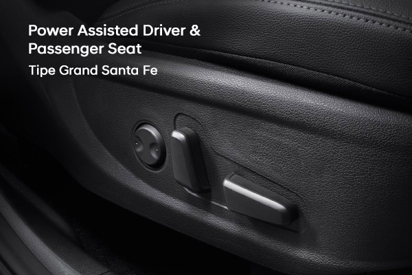 New Power Assisted Driver & Passenger Seat Hyundai Santa Fe varian baru