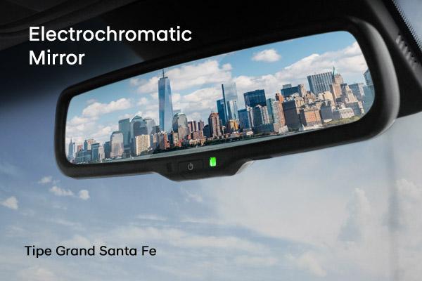 Electrochromatic Mirror Hyundai Santa Fe varian baru