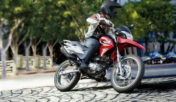 Motor trail Suzuki memakai basis dari Houjue NK150 asal China