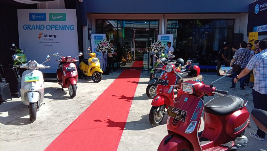 Dealer Piaggio Indonesia kedua di Wilayah Tangerang resmi berdiri