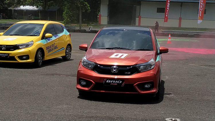 Test Drive Honda Brio