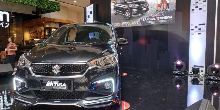 Detail ubahan pada Ertiga Suzuki Sport fokus pada desain eksterior