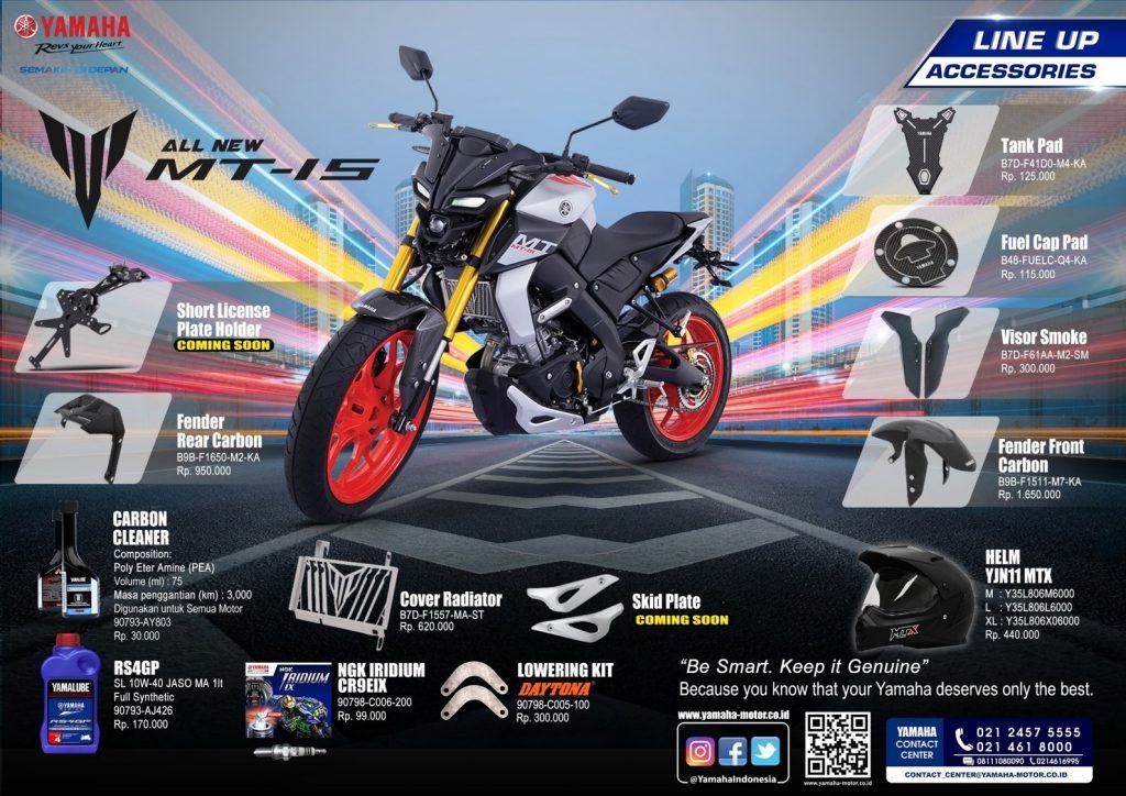 Aksesori Yamaha MT-15