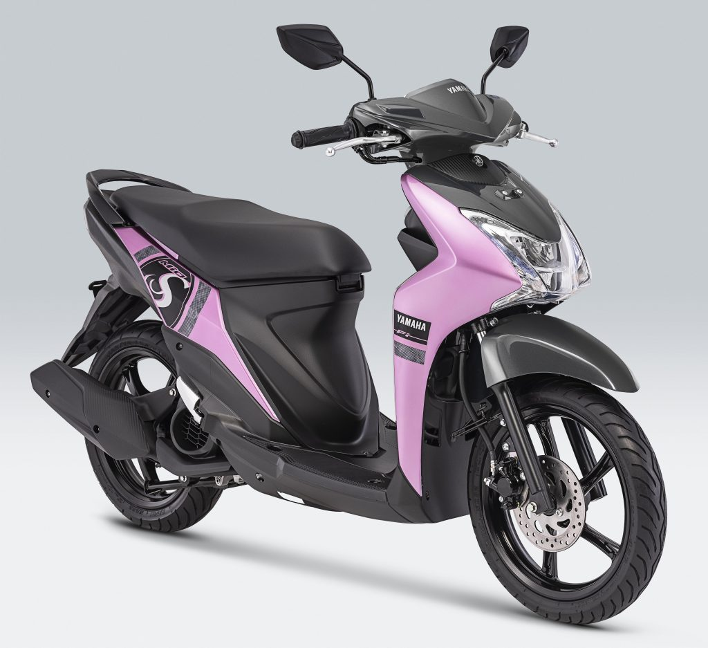 Yamaha Mio S Mesmerize Pink