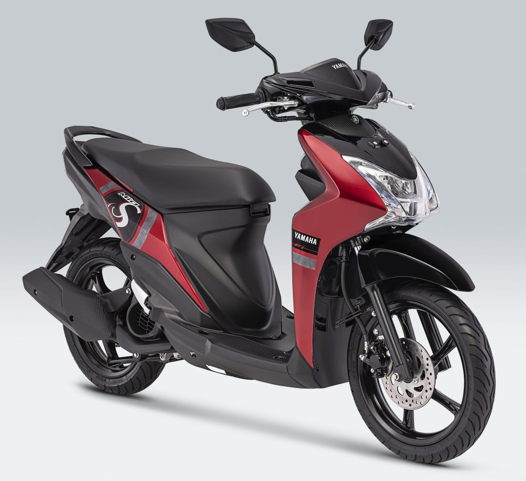 Yamaha Mio S Mysterious Red