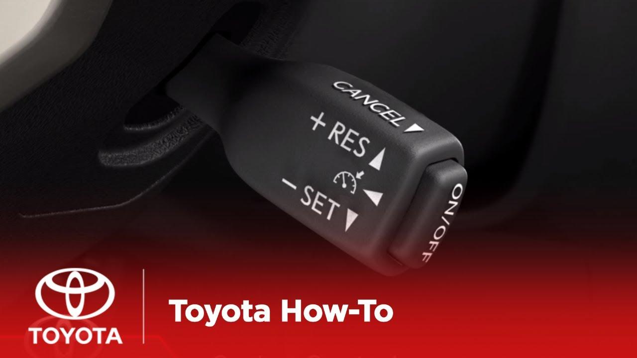 Cruise Control Toyota