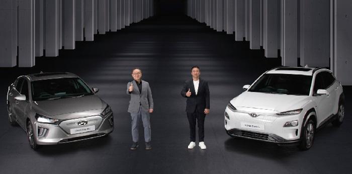 Mobil listrik murni Hyundai