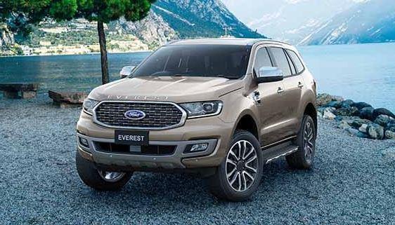 Ford Ranger dan Everest terbaru