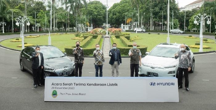 Hyundai Ioniq Electric dan Kona Electric