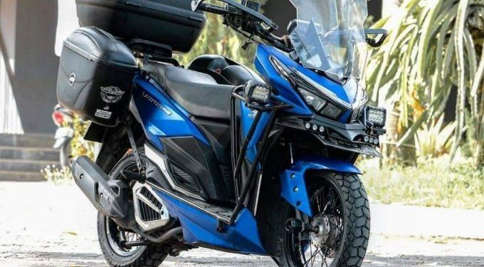 Modifikasi Honda Vario 150