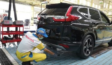 Uji emisi Honda