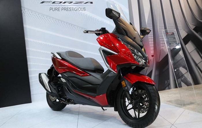 Penyegaran Honda Forza