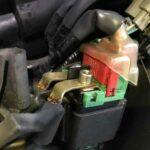 relay motor rusak