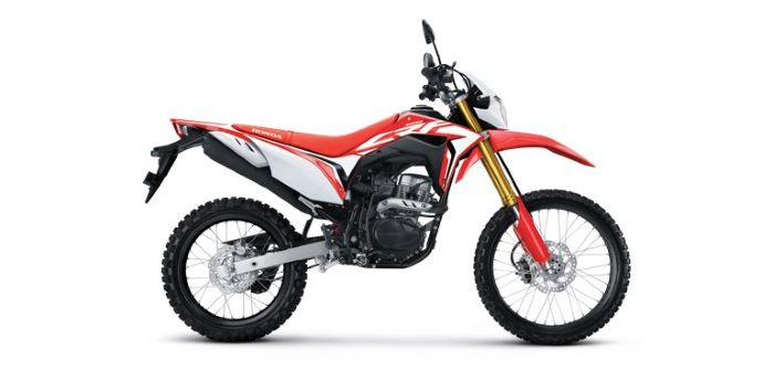Honda CRF150L Red-700
