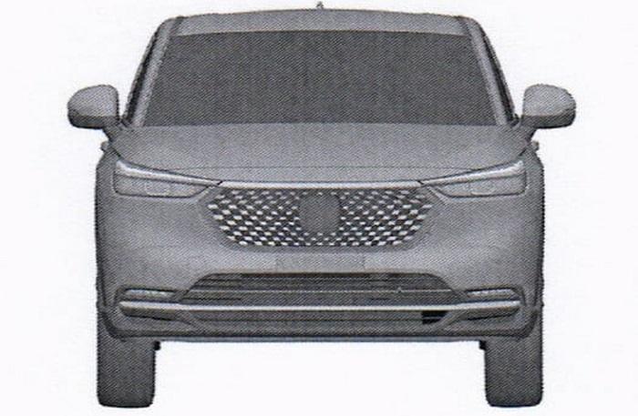 Gambar Paten Honda HR-V