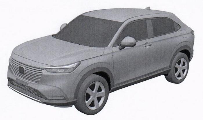 Gambar Paten Honda HRV