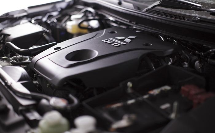mesin 4D56 dengan turbo