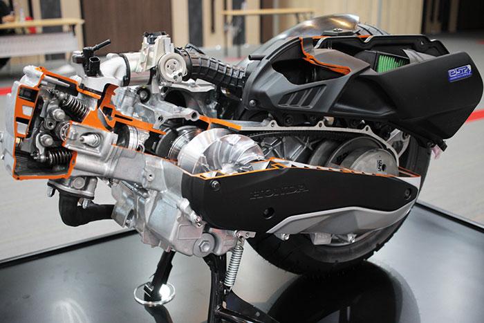 Mesin-eSP+-Honda-PCX-160