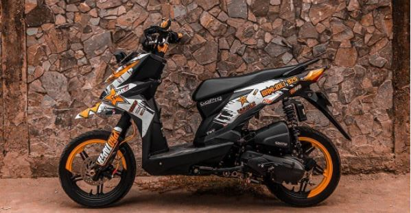Modifikasi Honda BeAT Supermoto