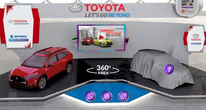 booth toyota iims virtual 2021