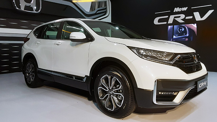 New Honda CR-V menjadi satu dari empat mobil baru Honda yang dipajang di IIMS Hybrid 2021
