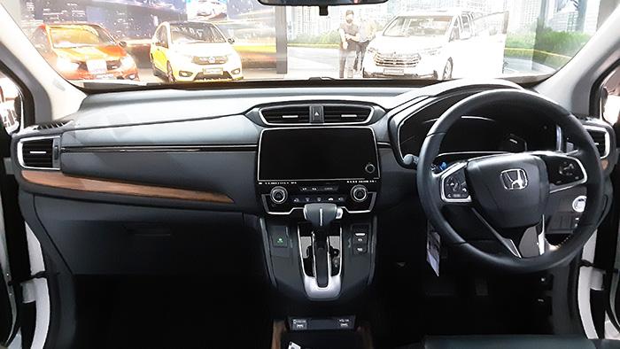 CR-V 2021 bagian interior