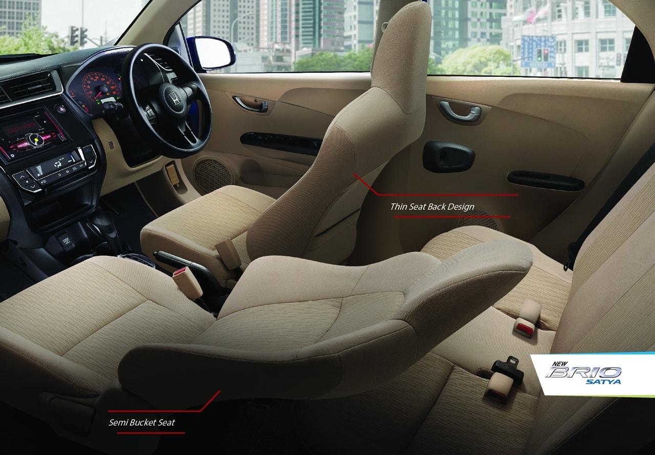 Tampilan Interior Honda Brio Baru