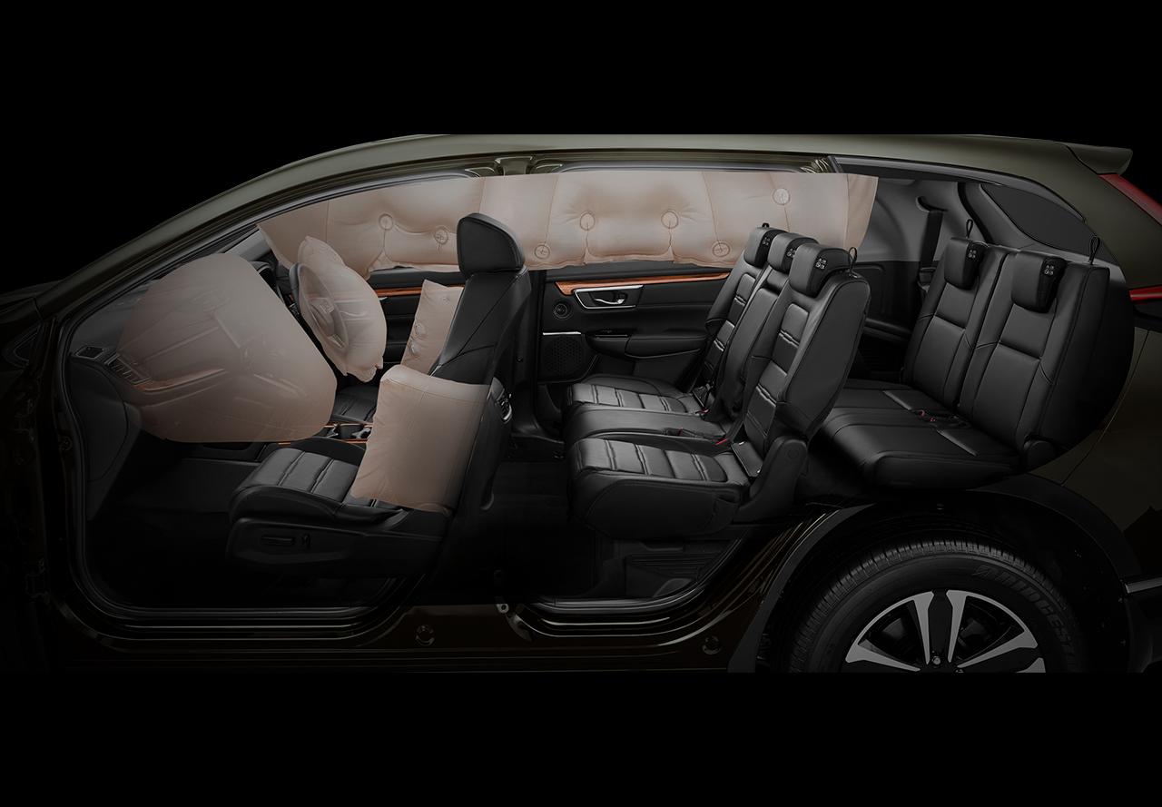 Fitur Keselamatan Airbag Samping Honda CR-V