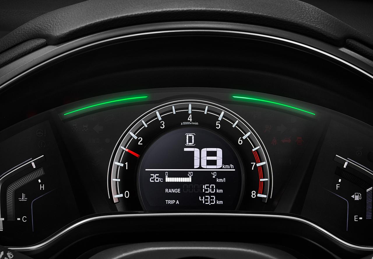 Tampilan Speedometer Honda CR-V Baru