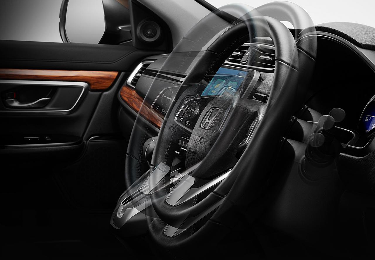 Pengaturan Setir Honda CR-V Baru