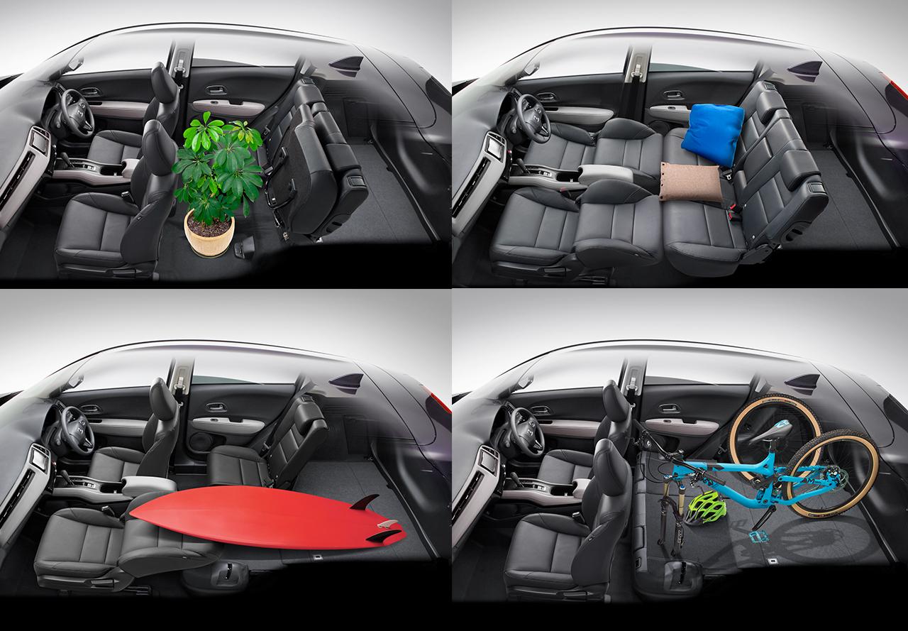 Tampilan Interior Honda HR-V