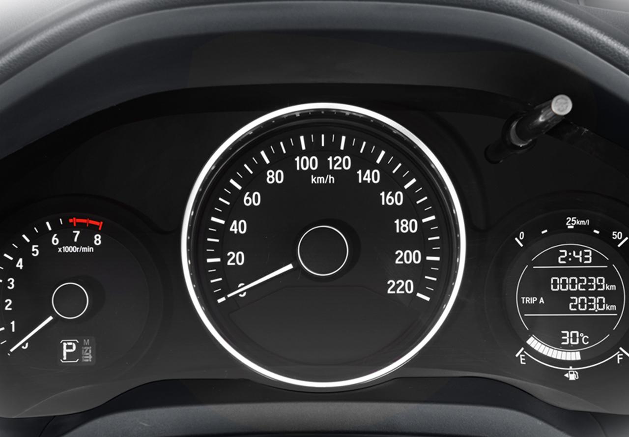 Tampilan Speedometer Honda HR-V