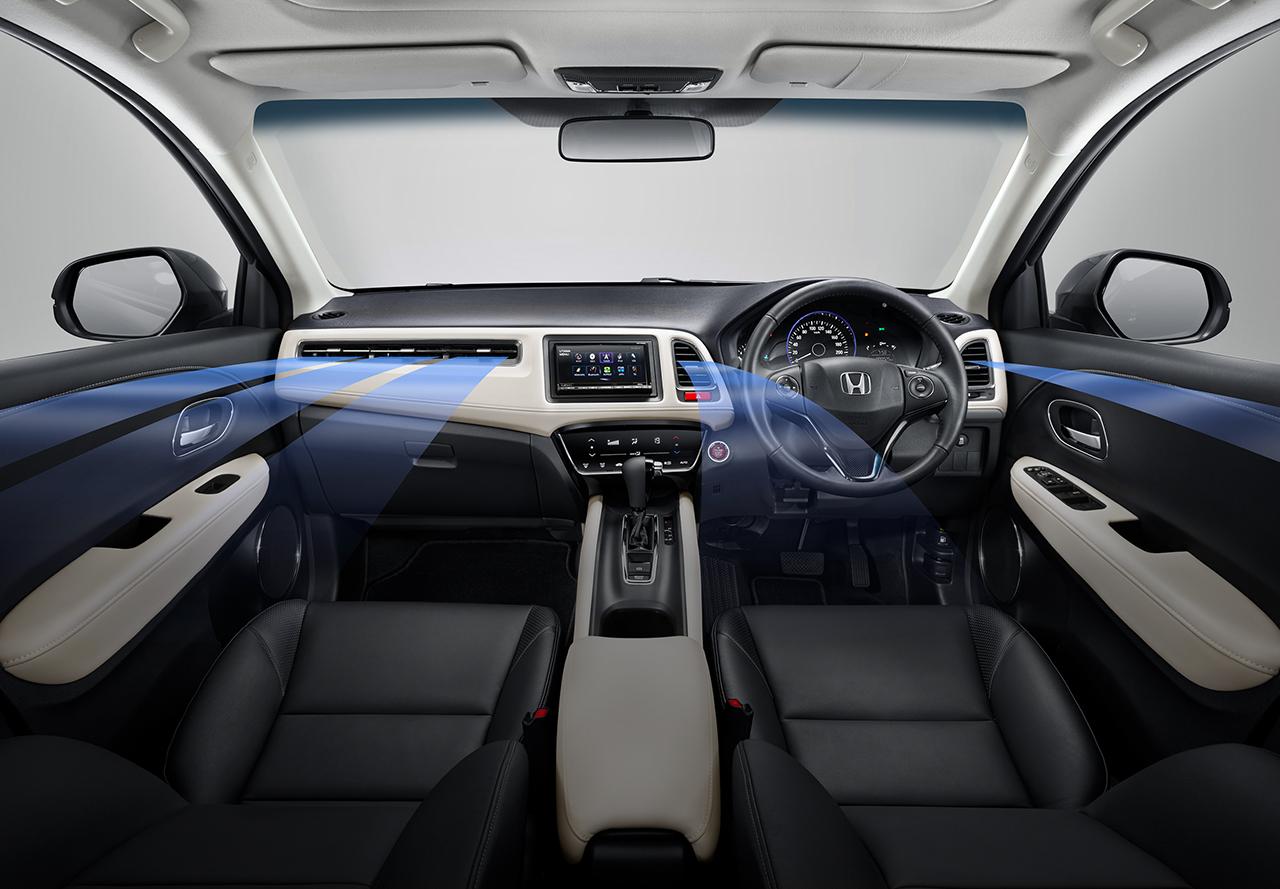 Tampilan Dashboard Honda HR-V