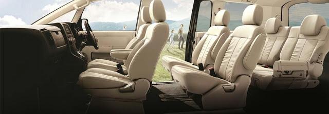 Tampilan Interior Jok Mitsubishi Delica