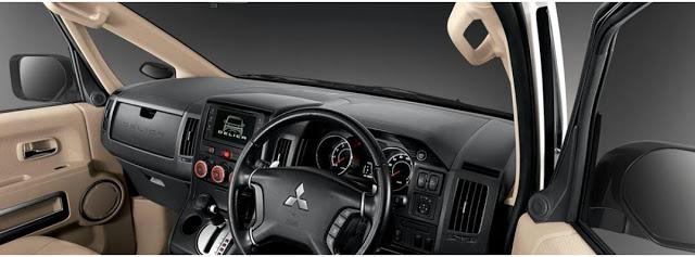 Tampilan Dashboard Mitsubishi Delica