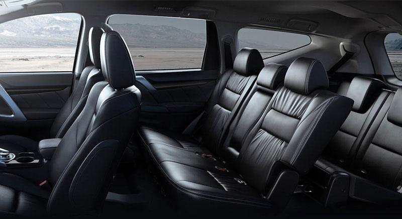 Tampilan Interior Jok Mitsubishi Pajero Sport