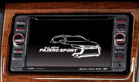 Head Unit Mitsubishi Pajero Sport