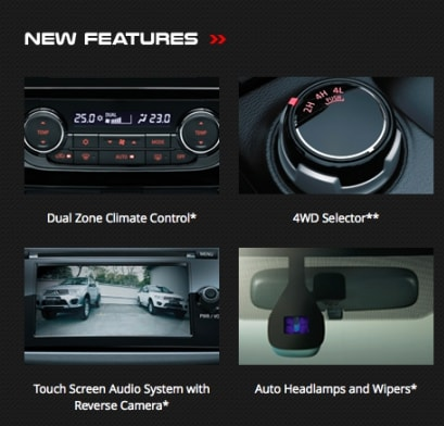 features baru mitsubishi triton 4 x 4 2018